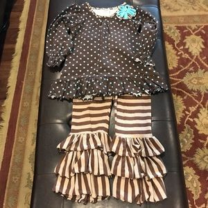 Molly & Millie Matching Sets - Molly & Millie pant set.  Size 4T.